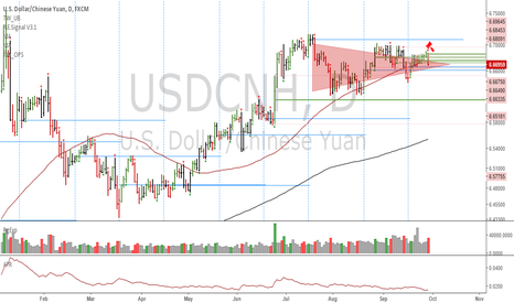 USDCNH: USDCNH: Potential long term top
