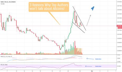 NANOBTC: 3 Reasons Why Top TA Authors Won't Talk about Altcoins!(NANOBTC)