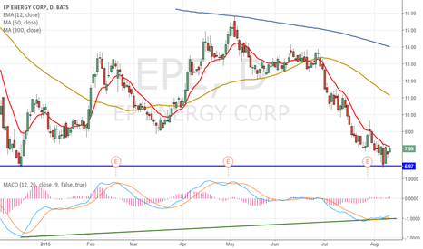 EPE: EPE support level and MACD divergence