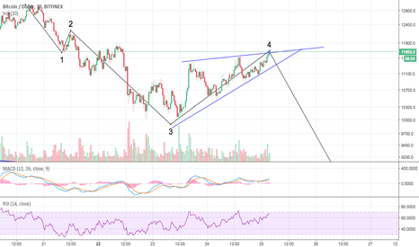 BTCUSD: BTC 1 Final Wave in Corrections.
