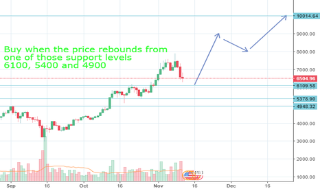 BTCUSD: Bitcoin 10 000 $