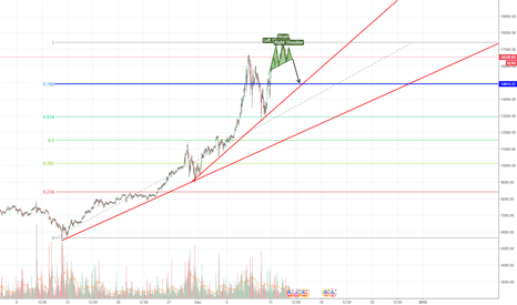 BTCUSD: Bitcoin drop comming? Potential Head-Shoulder.