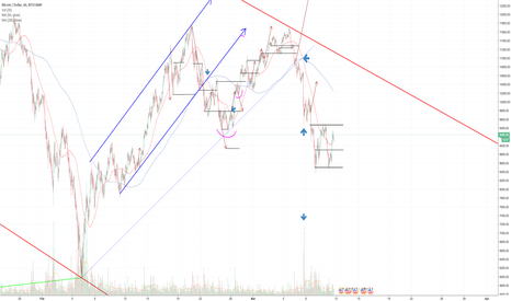 BTCUSD: BTC:USD 1 hour chart DAILY UPDATE (day 18)