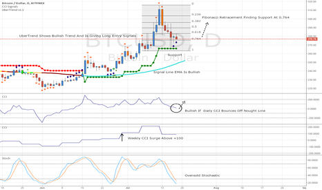 BTCUSD: BTC/USD Daily Closeup Confirms Bullishness.