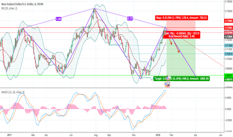 NZDUSD: [NZD/USD] Time to correct