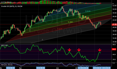 USOIL: Oil was correcting
