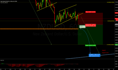 NZDUSD: Target Support zone?