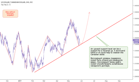 USDCAD: CAD: Can turn the trend upwards.