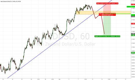 NZDUSD: NZD/USD, Short after price trendline ?