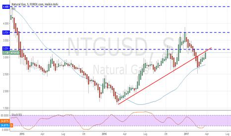 NTGUSD: Natural gas : long fino a inversione