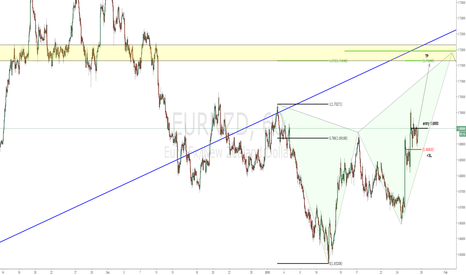 EURNZD: Hunting the butterfy's D leg