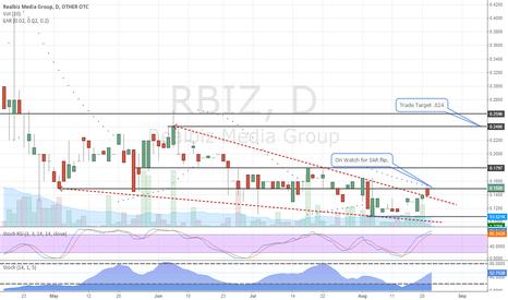 RBIZ: RBIZ Daily Chart