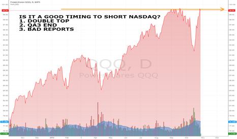 QQQ: Is it a good timing to short NASDAQ?