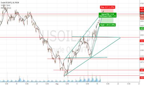 USOIL: Possible short opportunity