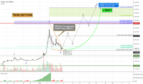 TRXBTC: TRON #TRXBTC - huge bullish flag pattern! +300%!!!