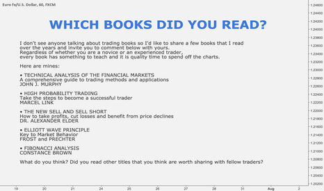 EURUSD: WHICH BOOKS DID YOU READ?