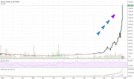 Bitcoin price chart by trading view