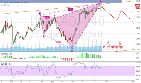 USDCAD: USD CAD 4H
