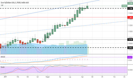EURUSD: Euro inarrestabile. Commento settimanale 26-8