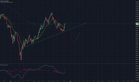 BTCUSD: Pros see a huge inverse head and shoulders, I'm not feeling it