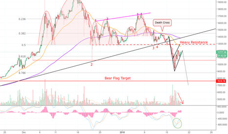 BTCUSD: How High Will The Dead Cat Bounce? Bitcoin! (BTC) MEOOOW!