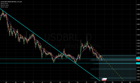 USDBRL: O real é a moeda mais forte do mundo.
