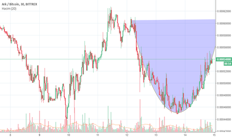 ARKBTC: ARK CUP AND HANDLE