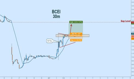 BCEI: Bull Flag on Bonanza:  Waiting for a Breakout