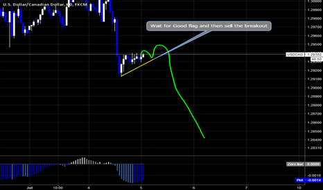USDCAD: Usdcad Sell Setup By wave Analysis