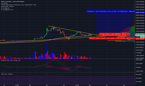 BCHUSD: BCH has formed a Symmetrical Triangle, likely bullish