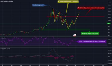 BTCUSD: BTC/USD - Preparing for an amazing bull run...