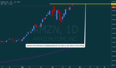 AMZN: Amazon mit neuem ATH?