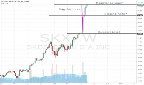 SKX: SKX is at resistance?