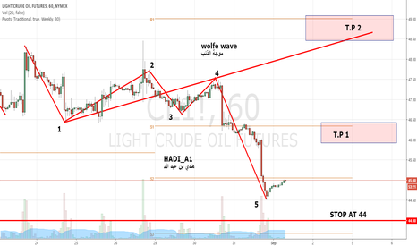 CL1!: Wolfe Wava for crude oil