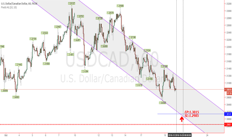 USDCAD: Buy limit USDCAD