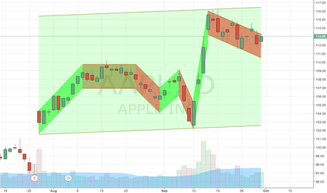 AAPL: AAPL cleaner support and resistance lines