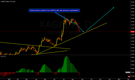 XAGEUR: XAGEUR will end the correction soon