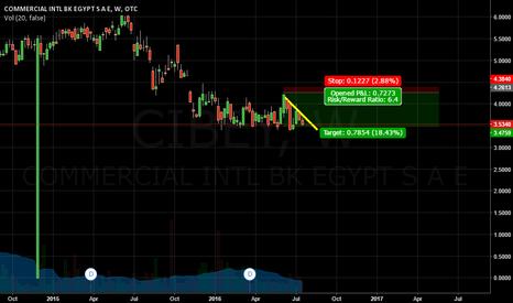 CIBEY: COMMERCIAL INTL BK SHORT