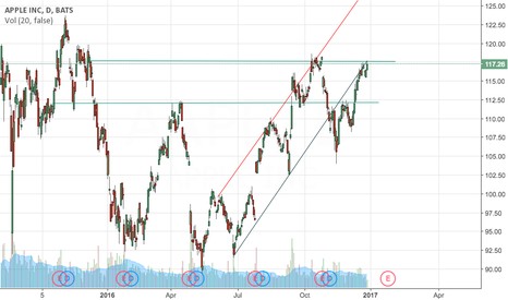 AAPL: AAPL another downtrend to 112?