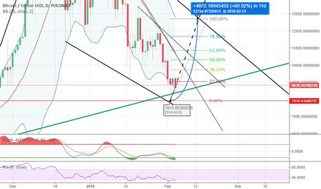 BTCUSDT: Bitcoin bottom and future price prediction.