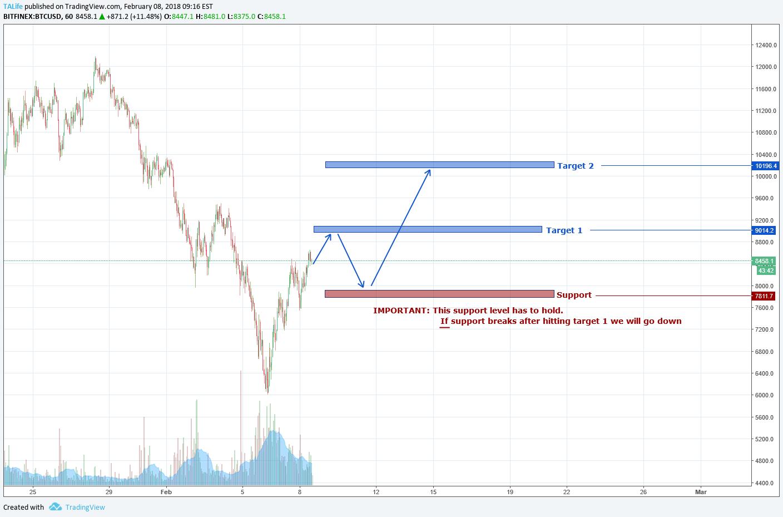 Two Scenarios for BTC - I Prefer the Bullish One pour