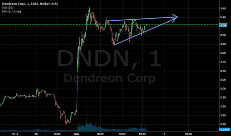DNDN: Selling at 3.4