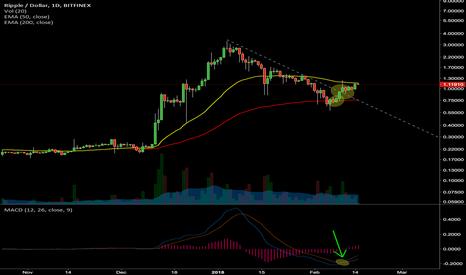 XRPUSD: XRPUSD - Daily chart analysis
