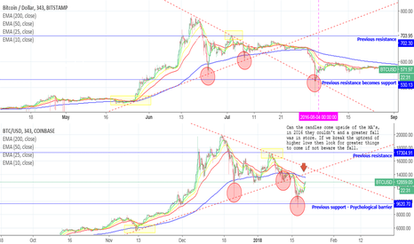 BTCUSD: BTC - What does History tell us?
