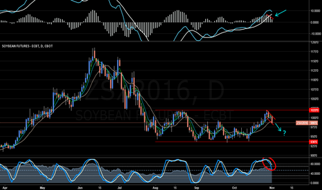 ZSX2016: Soybeans to Head Lower