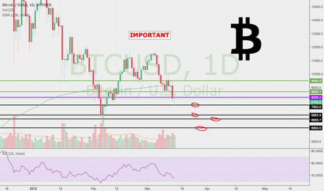 BTCUSD: The lower you fall, the higher you'll fly