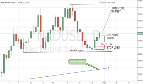 NZDUSD: NZDUSD on Key Level Support