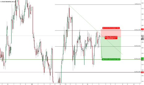 USDBRL: USDBRL shown exhaustion candle, maybe short?