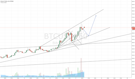 BTCUSD: Top target at 273 met, confirming parallel channel