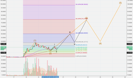 NEOUSD: $NEO long term target = $100 (maybe not that long)